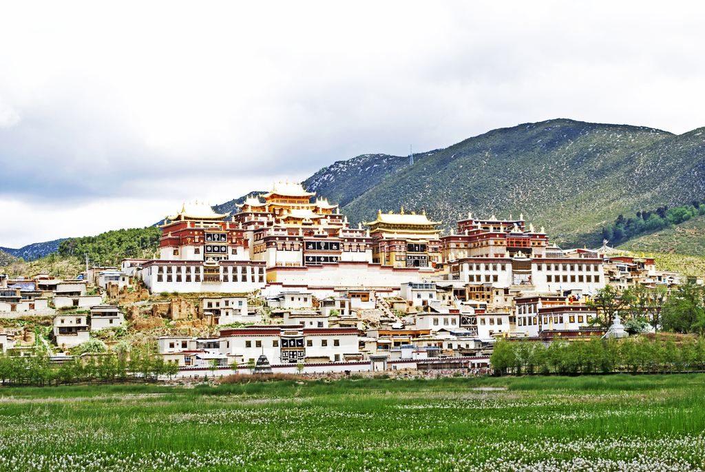 Toàn cảnh tu viện Songzanlin, Shangri-La