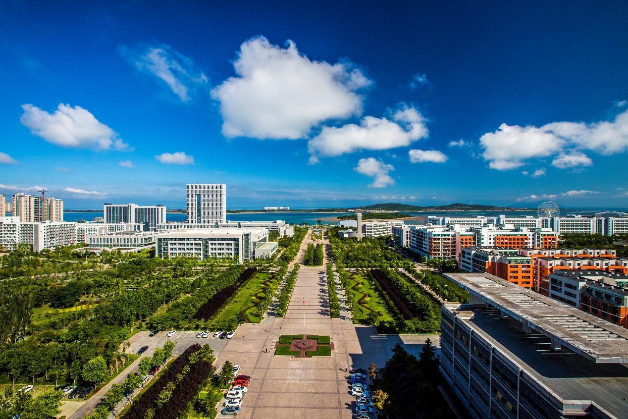Một góc Đại học Dầu khí Trung Quốc