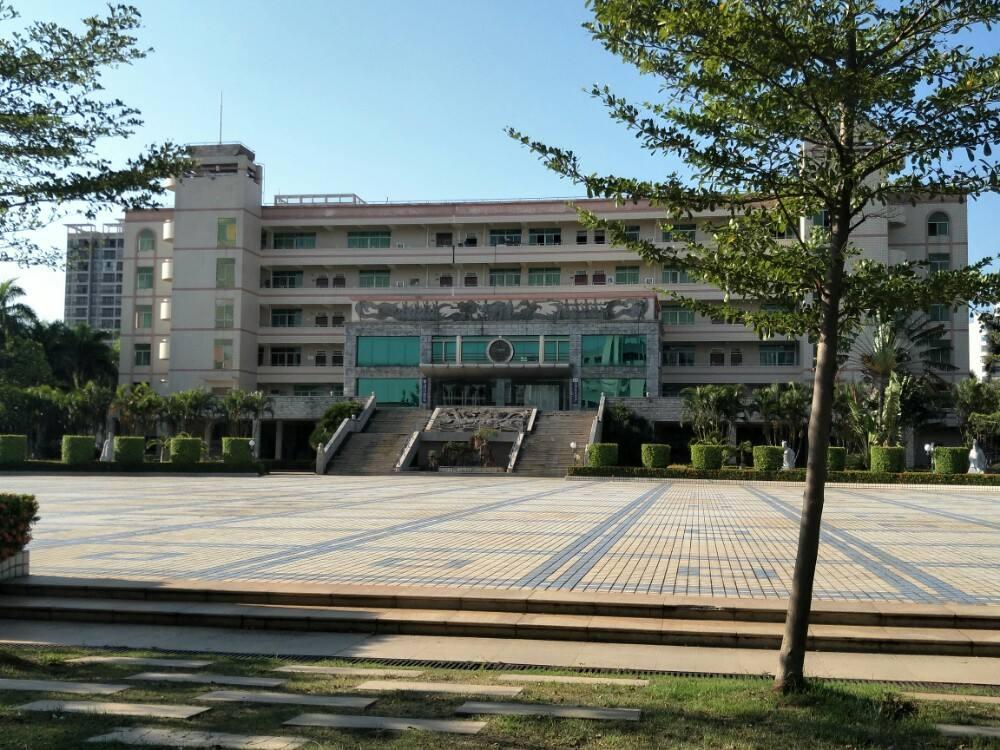 Một góc Đại học Hải Nam