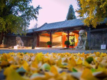 Mùa thu tại Đại học Thanh Hoa